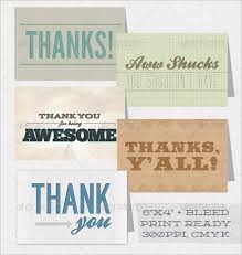personalized thank you cards 30 personalized thank you cards free printable psd eps format