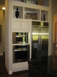 build wall oven cabinet wall ovens next to refrigerator design ideas pictures remodel and