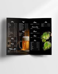 drink menu template free free drinks menu template dussk design