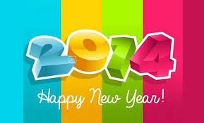 beauiful 2014 new year greeting card designs for your inspiration