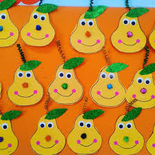 pear craft idea for kids crafts and worksheets for preschool