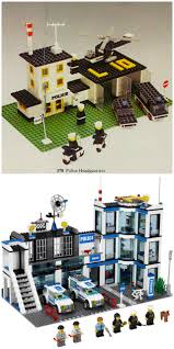Lego Headquarters Lego Then And Now Roar Sweetly