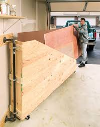 Mobile Lumber Storage Rack Plans by 93 Best Workshop Lumber Racks Images On Pinterest Garage