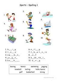 251 free esl spelling worksheets