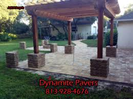 Backyard Paver Patios Brick Pavers Ta Florida Patio Pavers Ta Driveway Pavers