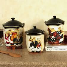 kitchen set awesome rooster canister sets kitchen popular home