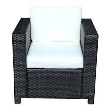 canapé tressé fauteuil jardin resine fauteuil jardin fauteuil canape salon de