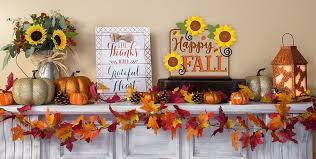 fall home decorating fall home decor party city canada