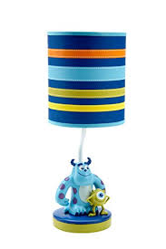 amazon com disney monsters at play lamp and shade multi colored