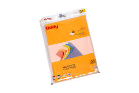 oddy multipurpose color papers a4 80 gsm orange 100 sheets
