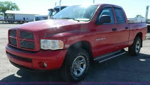 Dodge Ram Pickup Truck - 2004 dodge ram 1500 quad cab pickup truck item j8922 sol