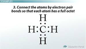 lewis structures single double u0026 triple bonds video u0026 lesson