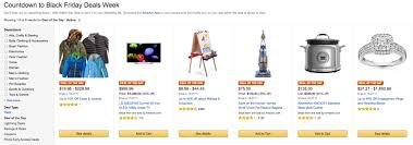 amazon black friday deal days amazon launches black friday deals site on november 1 black
