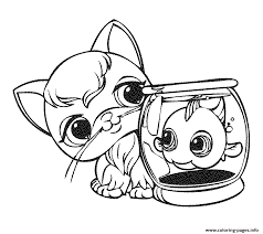 littlest pet shop 14 coloring pages printable