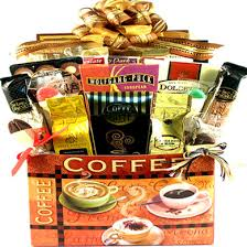 coffee gift baskets caffé deluxe coffee gift basket