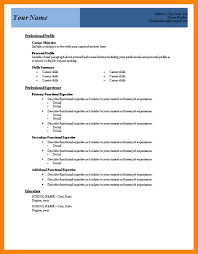Word 2007 Resume Templates Free Resume Templates Microsoft Word 2007 Resume Template And