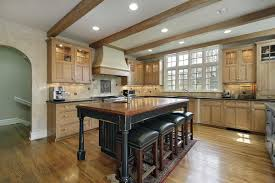 Custom Island Kitchen Gourmet Kitchens And Cabinets Hannegan Construction