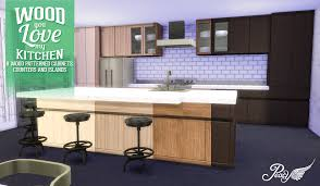 kitchen wood furniture simsational designs wood you love my kitchen