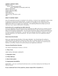 Furniture Sales Resume Sample by Ng753725 Sheet Metal Mechanic Aircraft 2 Vacancies Wg 10 White U2026