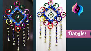handmade items guides u2013 how to make wall hanging with bangles and