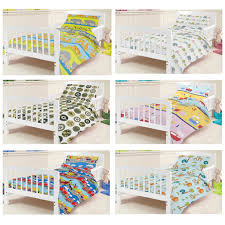 Train Cot Bed Duvet Cover Ready Steady Bed Children U0027s Kids Cot Bed Junior Duvet Cover