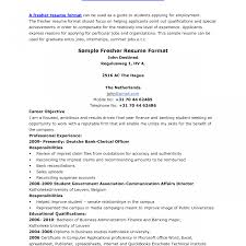 sle resume format download for freshers resume for freshers images templates fascinating mca fresher