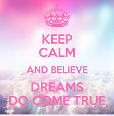 keep calm and believe dreams quote wallpaper hd