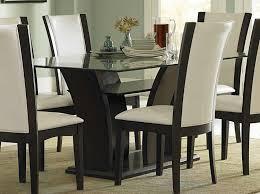 rectangle glass kitchen table homelegance daisy rectangular glass dining set d710 72 at homelement com