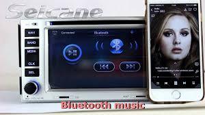 hyundai santa fe bluetooth 7 inch 2007 2008 2009 hyundai santa fe bluetooth audio system cd