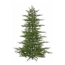 7 5 ft pre lit led california cedar artificial tree
