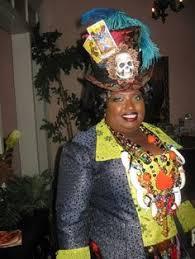 Voodoo Queen Halloween Costume Womens Costume Voodoo Queen Costume Swamp Witch Costume Voodoo