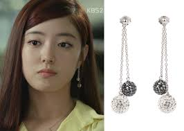 agatha earrings trot episode 9 park soo in s earrings kdramastyle