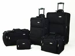 samsonite 5 nested luggage set black luggage