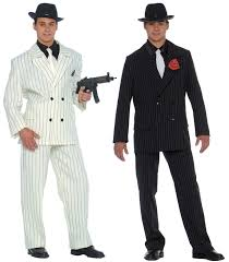 gangster costume fancy dress gangsters and molls