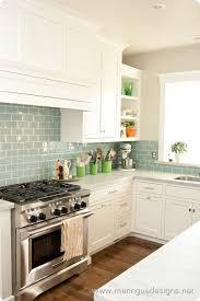 green tile kitchen backsplash green subway tile backsplash transitional kitchen benjamin in design