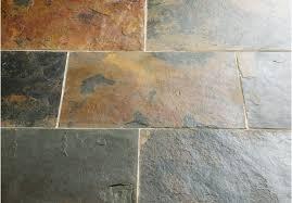 rustic multicolour slate tiles floors of