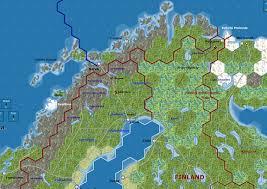 map northern europe scandinavia europe map