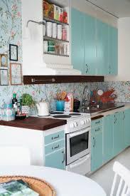 papier peint cuisine moderne papier peint cuisine une idée fraîche et créative