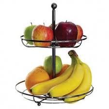 fruit basket stand 2 tier wire fruit basket foter