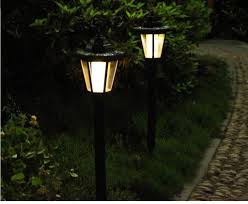 solar led walkway lights outdoor solar power led walkway mount wall light landscape scheme