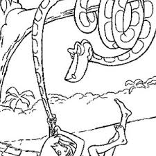 baloo holding pillar jungle book coloring pages bulk color