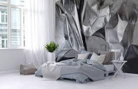 tapisserie moderne pour chambre tapisserie moderne pour chambre papier peint cr233ant un avec gris