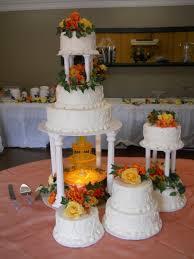 fountain wedding cake cakecentral com