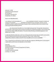 10 graduate recommendation letter sample
