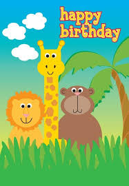 Jungle Birthday Card 18 Best Birthday Cards Images On Pinterest Birthdays Cards And