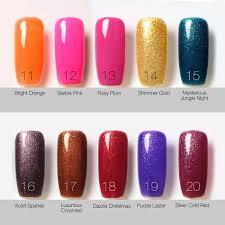 aliexpress com buy brand nails art bling gel nail polish beauty