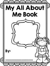 all about me book template 28 images 6 best images of all