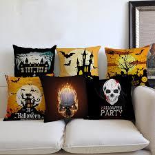 online shop 2017 new halloween throw pillow decoration art black