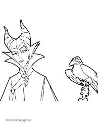 maleficent maleficent diablo coloring