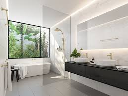 small bathroom ideas color ensuite color photo master modern vanity black tiles style c